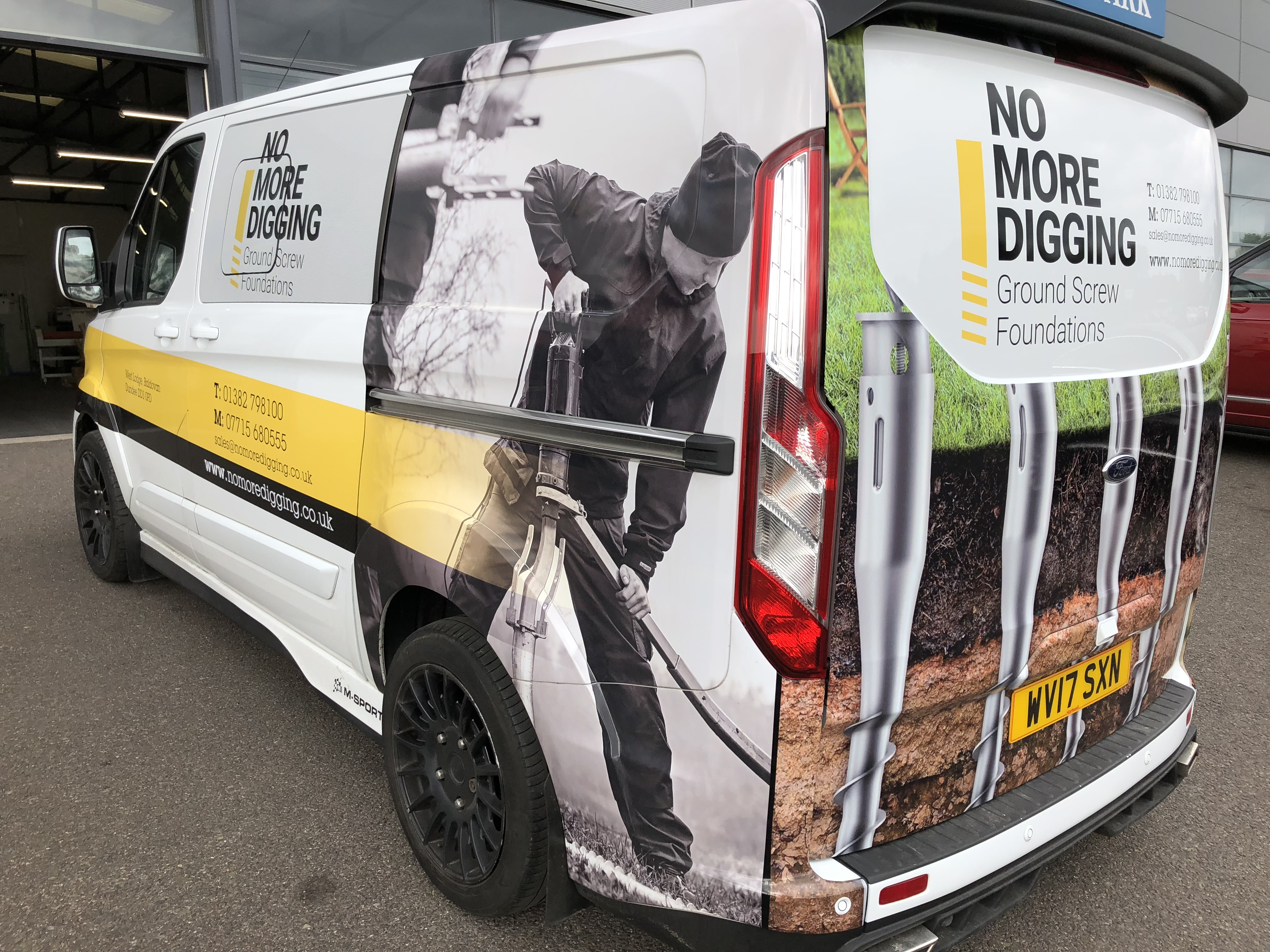 Vehicle Graphics Signature Signs Dundee